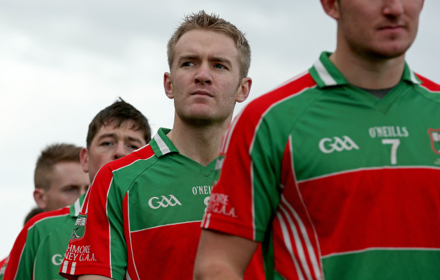 Noel McGrath during the team parade