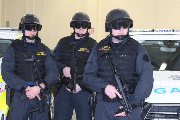 14/12/2016 New Crime unit. Members of Garda Siocha