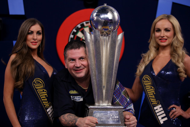 2015 William Hill PDC World Championship - Day Fifteen - Alexandra Palace