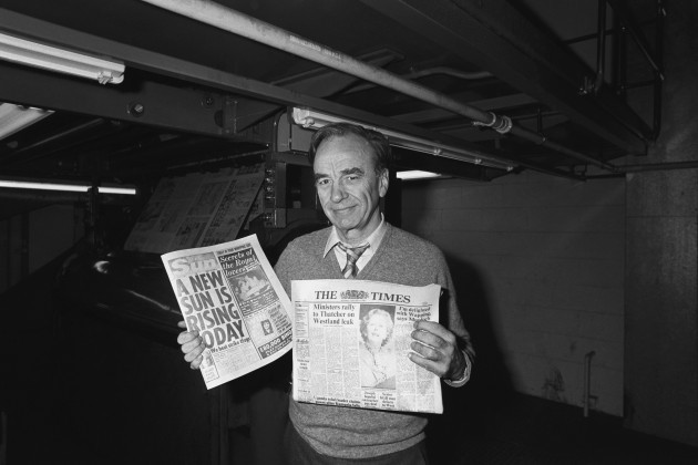 News International Print Works - Rupert Murdoch - Wapping, London