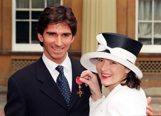 INVESTITURE Damon Hill