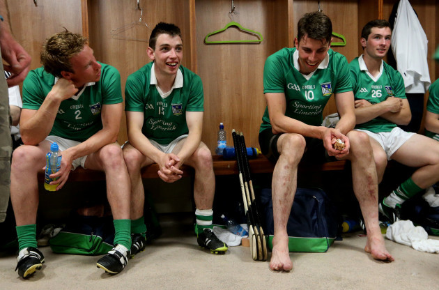 Stephen Walsh, Seanie Tobin, David Breen and Thomas Ryan