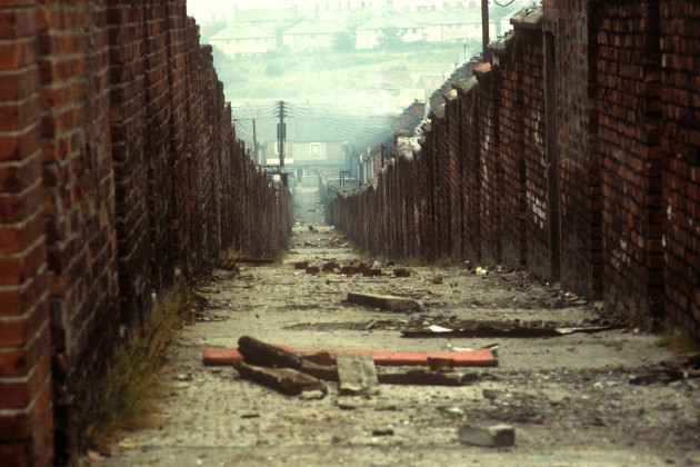 Northern Ireland - The Troubles - Cupar Street - Belfast