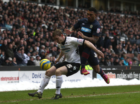 Soccer - FA Cup - Fourth Round - Derby County v Blackburn Rovers - Pride Park