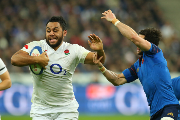 England's Billy Vunipola