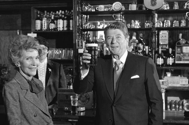 Ronald Reagan Ireland 1984