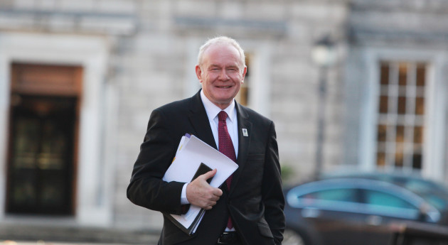 16/11/2016.  Martin McGuinness At Committees
