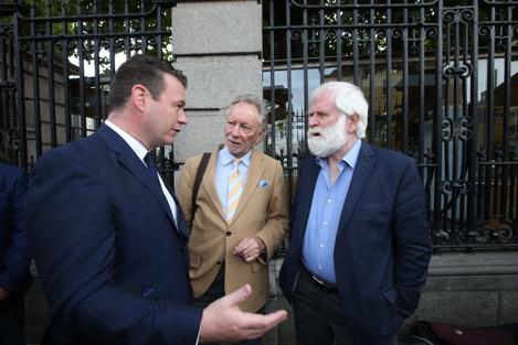28/9/2016. Irish Music Bills Protests