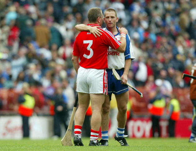Diarmuid O'Sullivan and Ken McGrath