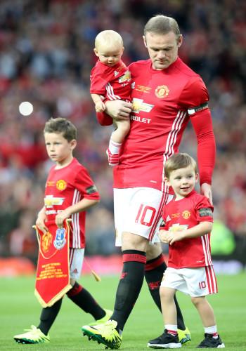 Wayne Rooney Testimonial - Manchester United v Everton - Old Trafford