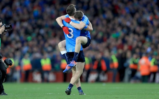 Brian Fenton and Dean Rock