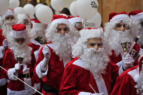 Mideast Lebanon Christmas