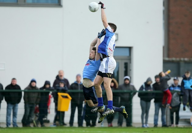 Stuart Lowndes with Declan O'Mahony