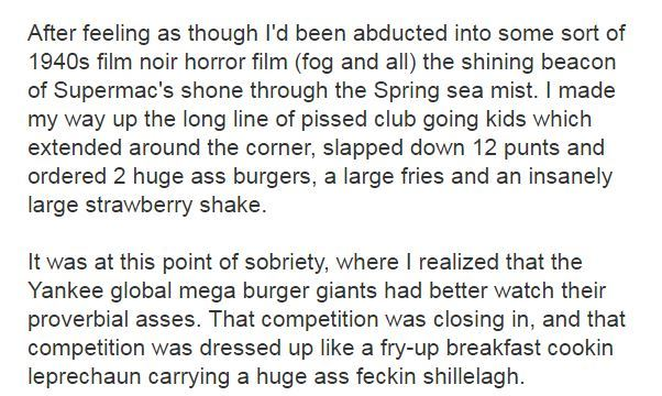 12 priceless tourist reviews of Supermacs · The Daily Edge