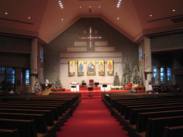 Before Midnight Mass Christmas 2006