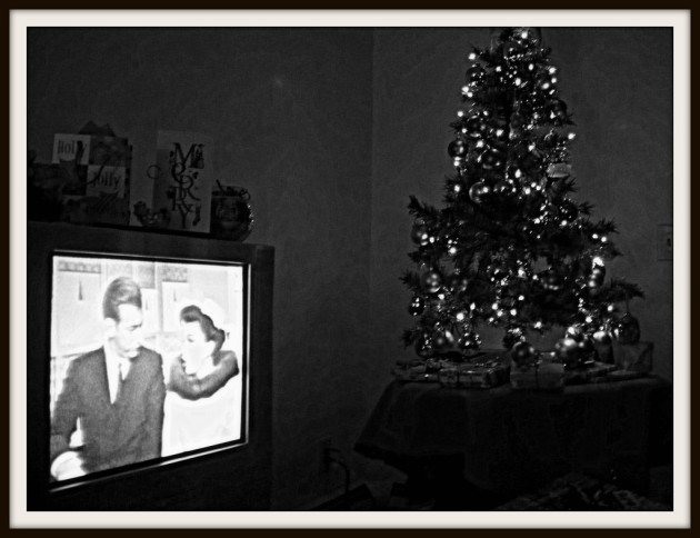 xmas eve in the 60's