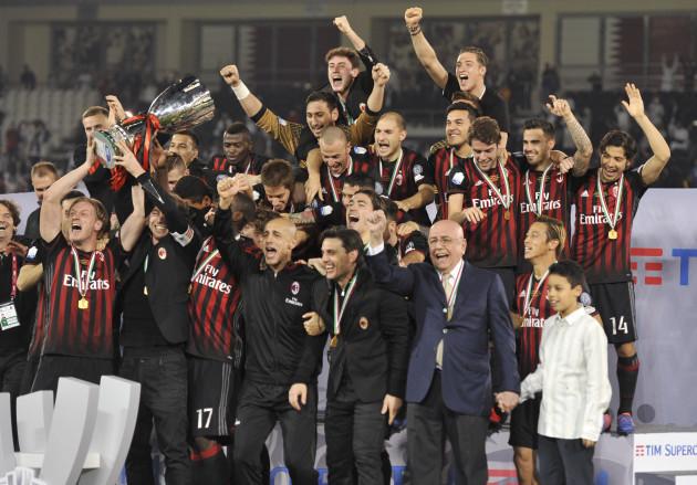 Qatar Soccer Italian Supercup