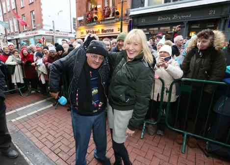 24/12/2016. Joe Duffy Christmas Radio Show at Bail