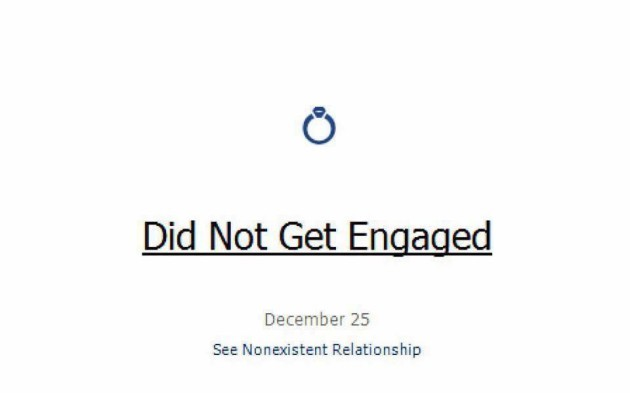 This guy\'s \'did not get engaged\' Christmas Day Facebook status is ...