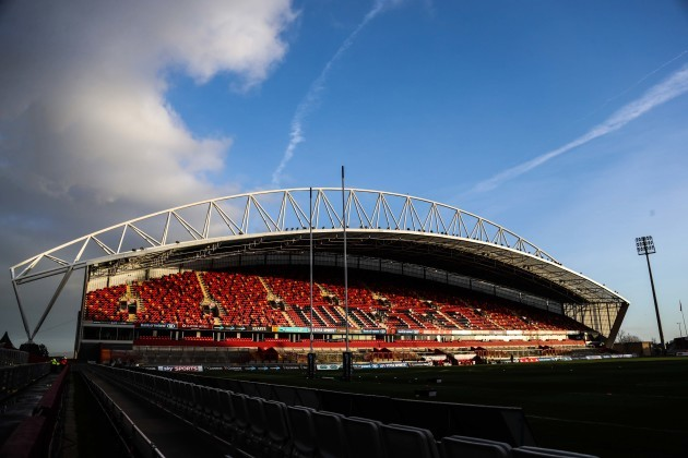 A general view of Thomond Park 26/12//2016