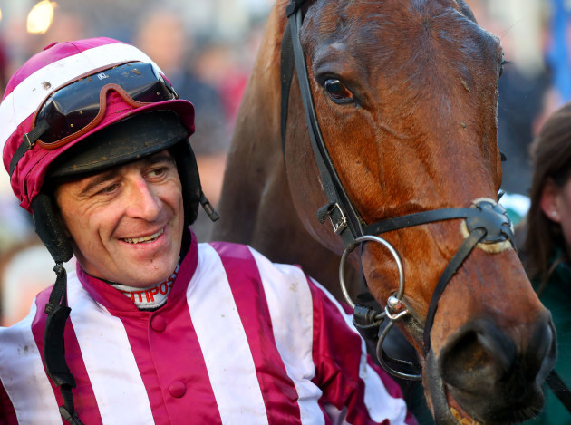 Davy Russell with Noble Endeavor after winning