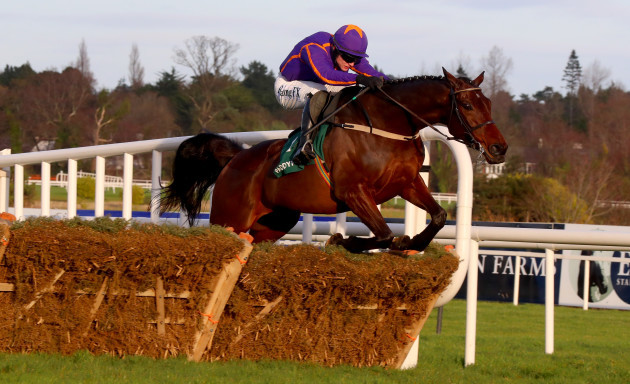 Saturnas ridden by Paul Townend clear the last to win