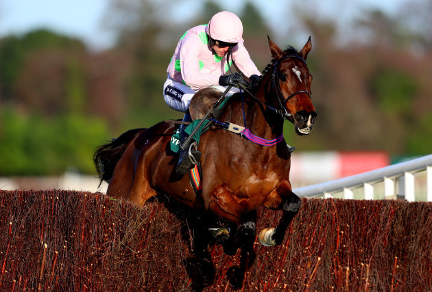 Ruby Walsh onboard Douvan clears the last on his way to winning