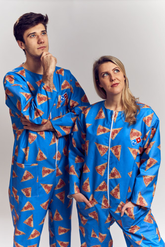 The Domino's Wipeable Onesie 8