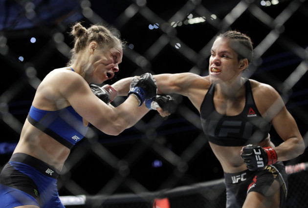 UFC 207 Mixed Martial Arts Nunes Rousey