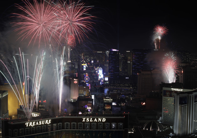 Las Vegas New Years Eve
