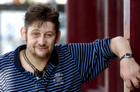 SHANE MC GOWAN FORMER SINGER WITH THE POGUES