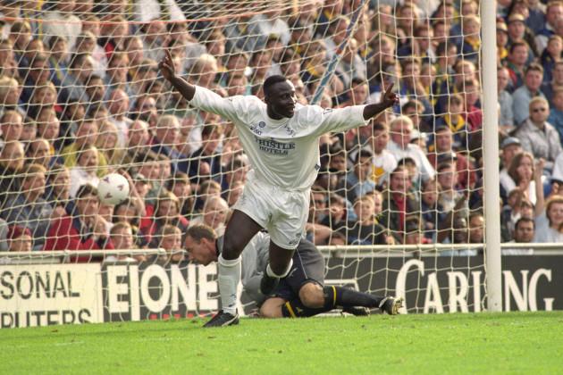 Soccer - FA Carling Premiership - Wimbledon v Leeds United - Selhurst Park
