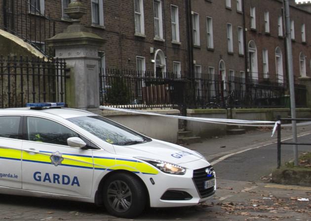04/01/2017. Crime Scene Drumcondra. Gardai are inv