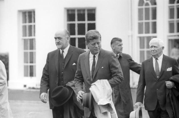 Politics - John Kennedy Visit - London