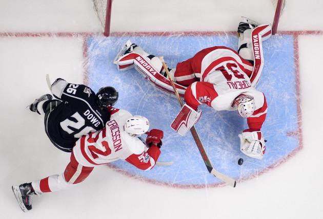 Red Wings Kings Hockey