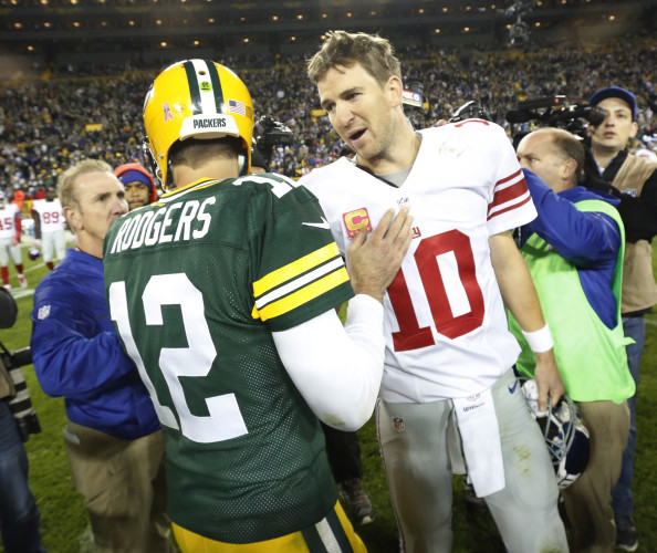 Giants Packers Football