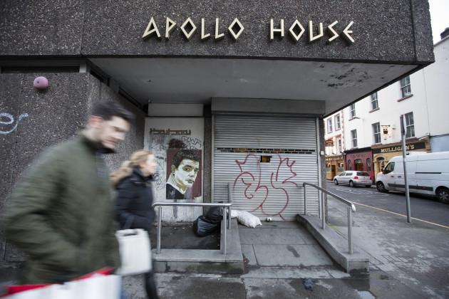 23/12/2016. Apollo House Homeless Crisis