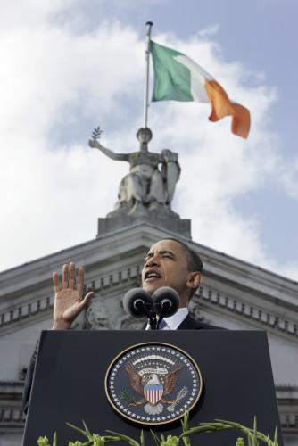 23/5/2011 President Obama's visit to Ireland