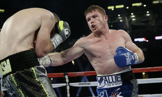 Alvarez Smith Boxing