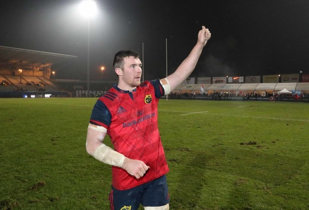 Peter O'Mahony after the match