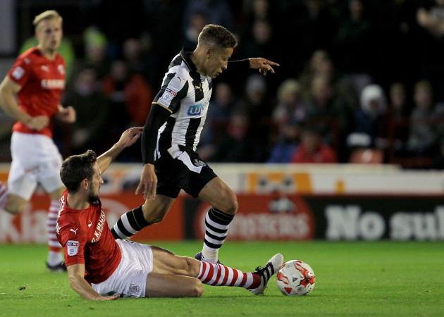 Barnsley v Newcastle United - Sky Bet Championship - Oakwell