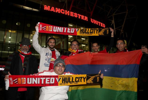 Manchester United v Hull City - EFL Cup - Semi final - Old Trafford