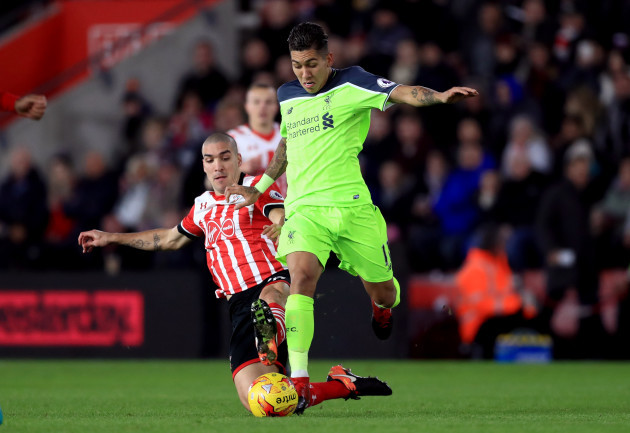 Southampton v Liverpool - EFL Cup - Semi Final - First Leg - St Mary's