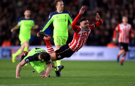Southampton v Liverpool - EFL Cup - Semi Final - First Leg - St Mary's Stadium