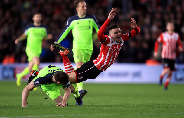 Southampton v Liverpool - EFL Cup - Semi Final - First Leg - St Mary's Stadium