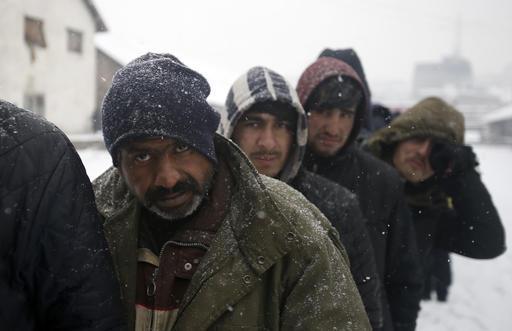 Serbia Europe Migrants Weather
