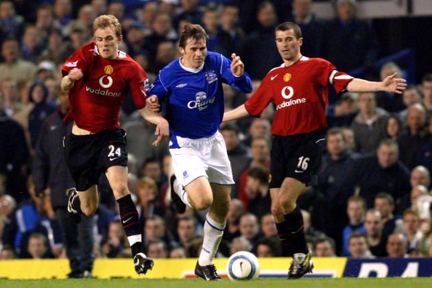 Soccer - FA Barclays Premiership - Everton v Manchester United - Goodison Park