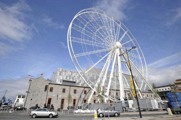27/7/2010. The Big Wheel of Dublin