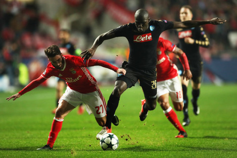 Benfica v Napoli - UEFA Champions League - Group B - Estadio Da Luz