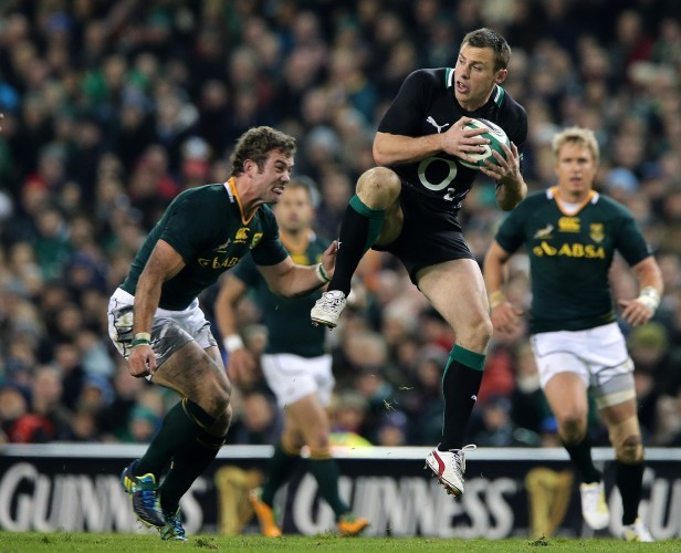 Tommy Bowe and Jaco Taute